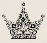 13608041-Crown-decorative-ornament-Stock-Vector-crown-tattoo-floral