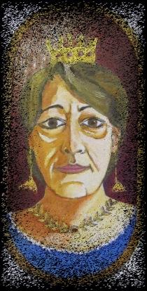 Β.Ν. Σόφη, Λάδι σε ξύλο + ψηφιακή επεξεργασία