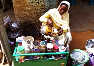 tea lady omdurman 1